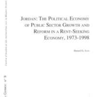 Jordan: the political economy of public sector growth and reform in rent-seeking economy, 1973-1998